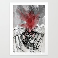 Valley of Death Art Print