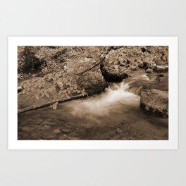 Djur-Djur Waterfall II Art Print