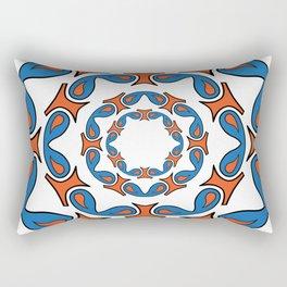 abstract mandala tribal Rectangular Pillow