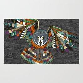 night owl charcoal Rug