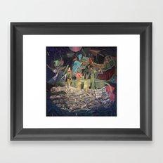 The Very Extraordinary Voyage Framed Art Print