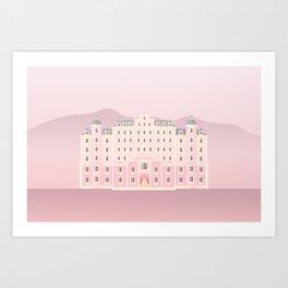 The Grand Budapest Art Print