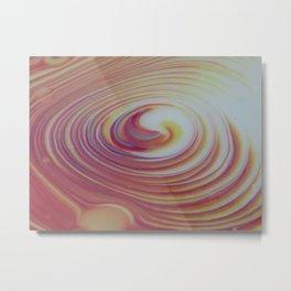 Swirly whirl 2 Metal Print