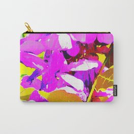 Wisteria 5 Purple Carry-All Pouch