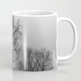 Black and white naked trees Coffee Mug