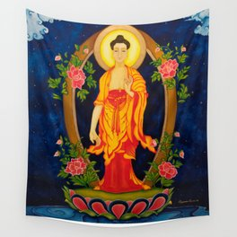 The Jewel in the Lotus Wall Tapestry