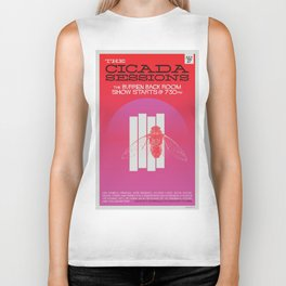 The Cicada Sessions Concert Poster Biker Tank
