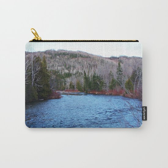 River in Nature Carry-All Pouch