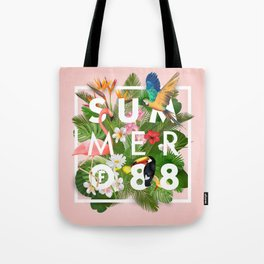 SUMMER of 88 Tote Bag