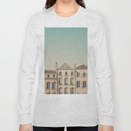 the beautiful french architecture of Metz, France Long Sleeve T-shirt