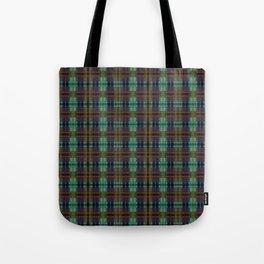 Colorful Plaid Tote Bag