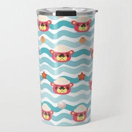 ac cute scallop lover pascal Travel Mug