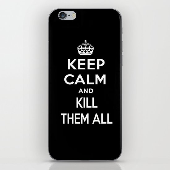 Keep Calm iPhone & iPod Skin