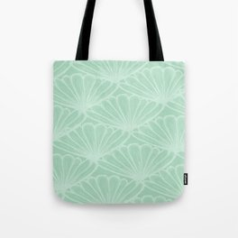 Lady in Mint Tote Bag