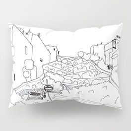 Lombard Hill in San Francisco Pillow Sham