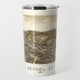 Aerial View of Bethel, Vermont (1886) Travel Mug