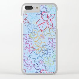 pattren v6 Clear iPhone Case