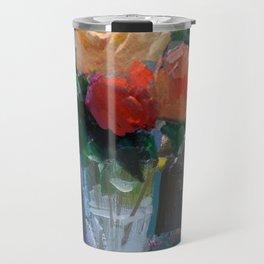 Roses & Fruits Travel Mug