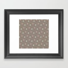 Balloons on Taupe Framed Art Print
