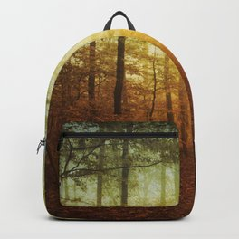 fall world Backpack