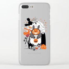 studio ghibli halloween Clear iPhone Case