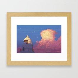 memories of gone summer [Goodbye summer days] Framed Art Print
