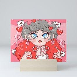 Love You Darling Mini Art Print