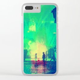 BLADE RUNNER Painting Poster | PRINTS | Blade Runner 2049 #M1 Clear iPhone Case
