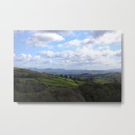 View from Orrest Head, The Lake District - Landscape and Nature Photography Metal Print