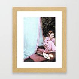 Themis Was My Dream Framed Art Print