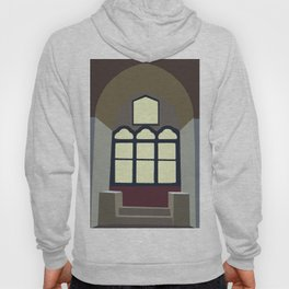 Castel del Monte window Hoody