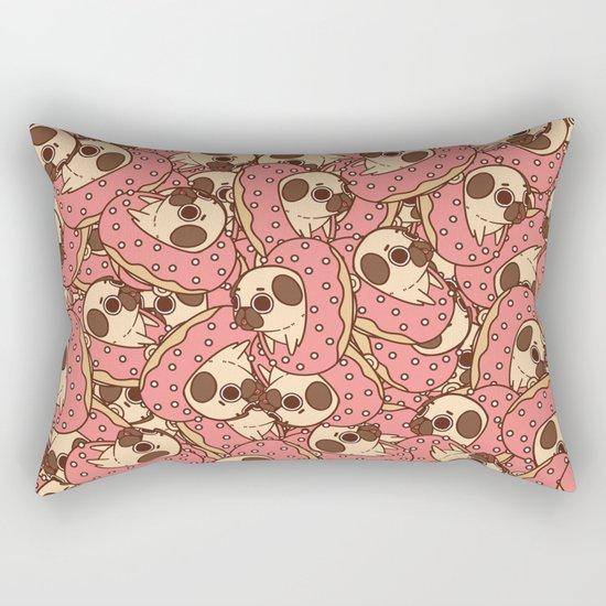 Puglie Doughnut Rectangular Pillow