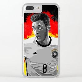 Mesut Özil - Germany Clear iPhone Case