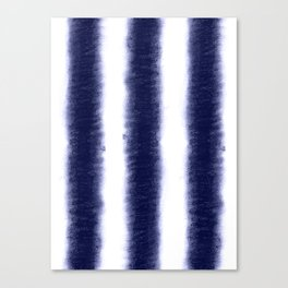 Indigo Pillars Canvas Print