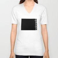 colorado V-neck T-shirts featuring Colorado by Isabel Moreno-Garcia