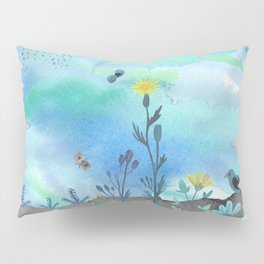 Blue Garden I Pillow Sham
