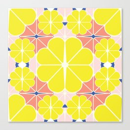 Sliced Fruit Canvas Print