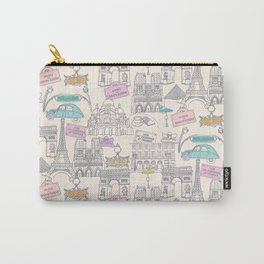 Paris Icons Carry-All Pouch