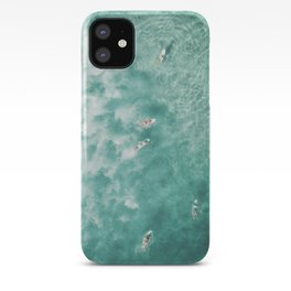 Surfing in the Ocean iPhone Case