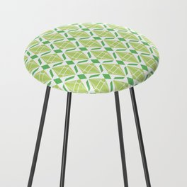Abstract [GREEN] Emeralds Counter Stool
