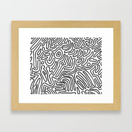 what do you want Framed Art Print