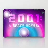 2001 a space odyssey iPad Cases featuring 2001 a Space Odyssey by Scar Design