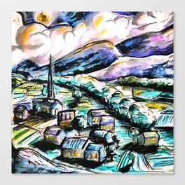 Noche Estrellada Canvas Print