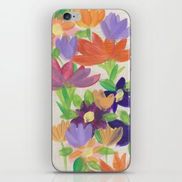 Wallflowers III iPhone Skin
