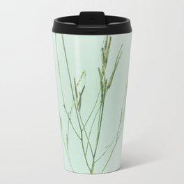 soft grass pattern Metal Travel Mug