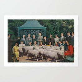 people  Art Print