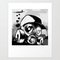 Luv Is In the Air... Art Print