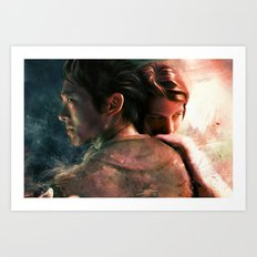 Live for Love/Fight for Live Art Print
