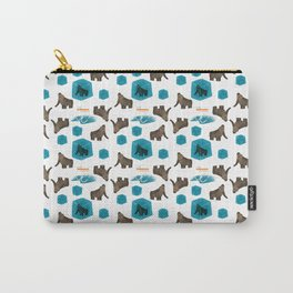 Cenozoic Extinction Event Pattern Carry-All Pouch