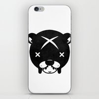 suit iPhone & iPod Skins featuring Bear Suit by Terry Mack